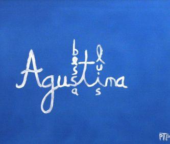 """Pintura """"Agustina Bessa-Luís"""" de Paulo Teixeira Pinto"""