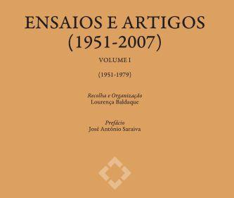 Apresentação da obra Agustina Bessa-Luís- Ensaios e Artigos (1951-2007)